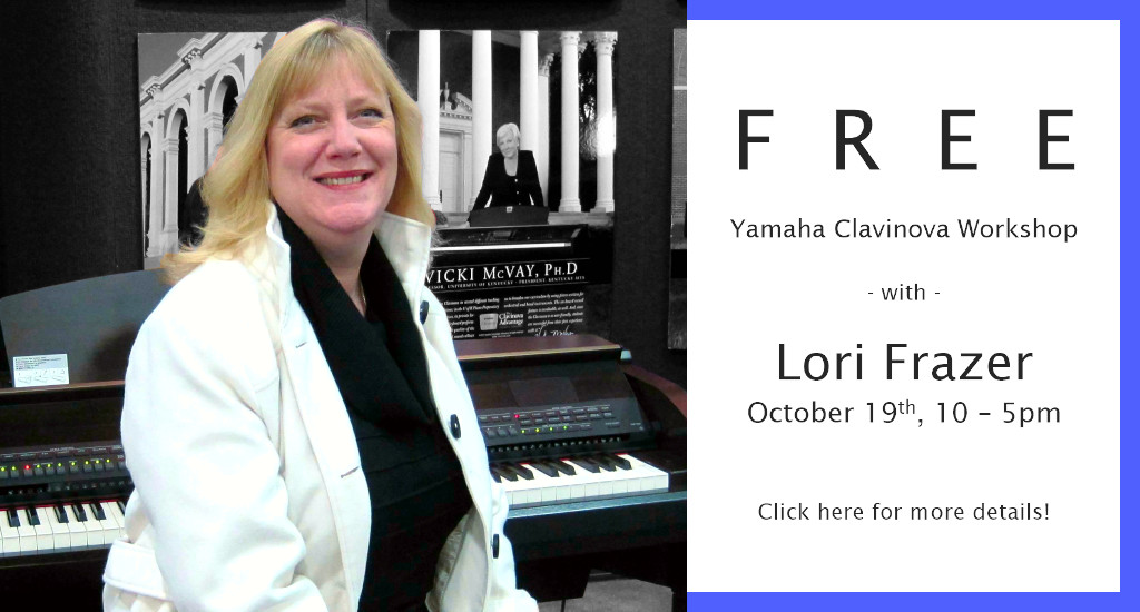 Free Clavinova Workshop with Lori Frazer