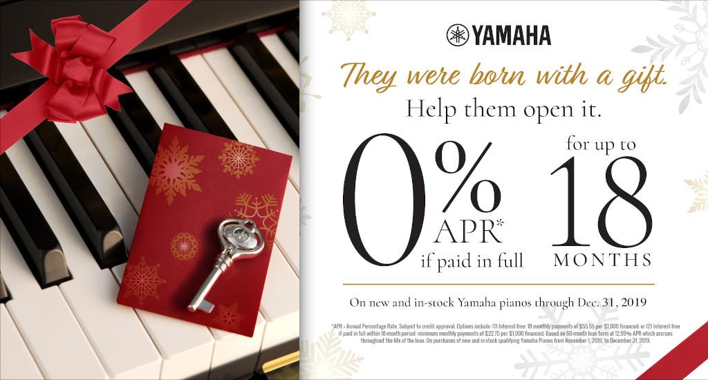 Yamaha Red Tag Sale